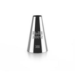 DOUILLE RONDE LISSE INOX 12 MM H 50 MM